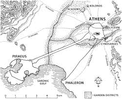 Map Of Ancient Greece And The Aegean World by Chapter 2 Greece And The Garden