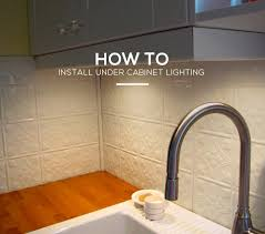 How To Install Under Cabinet Lighting by How To Hardwire Under Cabinet Lighting Everdayentropy Com