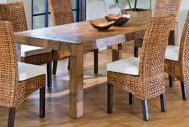 Dining Room Tables And Chairs For 4 Decorating Charming Seagrass Dining Chairs For Inspiring Dining