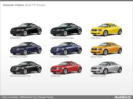 audi cars all models audi of america 2006 model year change points audiworld