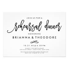 rehearsal dinner invitations rehearsal dinner invitations zazzle