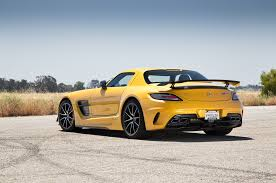 mercedes sl amg black series 2014 mercedes sls amg black series test motor trend