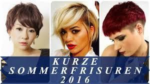 Damenfrisuren Kurz by Kurze Sommerfrisuren 2016