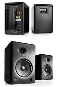 home theater computer case audioengine 5 premium powered speakers black ae a5 b pc case gear