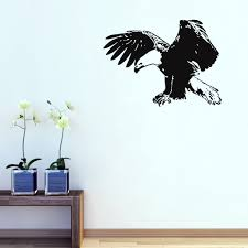 eagle sticker for walls promotion shop for promotional eagle a001 vinyl most popular animal birds wall decal removable flying eagle wall stickers