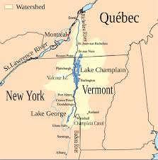 Map Of New England Colonies by Lake Champlain Wikipedia