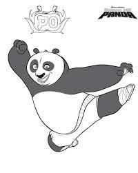coloring pages kung fu panda printable kids u0026 adults free