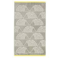 scion grey spike towel in grey u0026 citrus scion towels at bedeck 1951