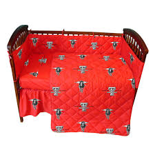 Western Baby Crib Bedding by Texas Tech Red Raiders 5pc Baby Crib Bedding Set Baby Crib