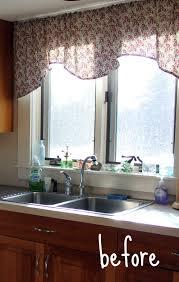 Large Kitchen Window Treatment Ideas Interesting Kitchen Window Treatments 2013 Astonishing Ideas In