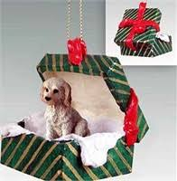 labradoodle ornaments by yuckles
