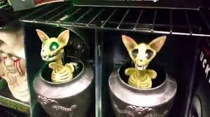 halloween urn decorations spirit halloween 2015 cat pet urn table top prop youtube