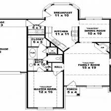 one story open floor house plans uncategorized open floor house plans one story for awesome one
