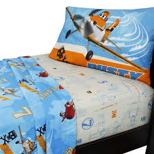 Twin Airplane Bedding by Amazon Com Disney Planes 3 Piece Twin Sheet Set Home U0026 Kitchen