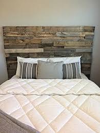 Reclaimed Wood Headboard Reclaimed Pallet Wood Mosaic Headboard By Aaronscustomwoodwork