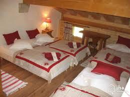 chambre chalet montagne location chalet à bourg maurice iha 65803