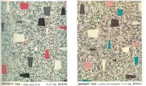 vintage vinyl flooring patterns 1960 s