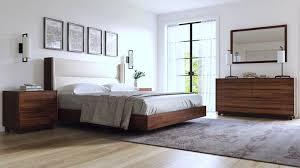 copeland sloane bedroom in walnut ambiente modern furniture