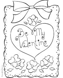 happy valentine coloring page 017