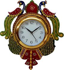 wall watch divinecrafts analog wall clock price in india buy divinecrafts
