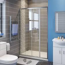 Shower Door Rails Showers Framed Shower Screen Sliding Door Glide