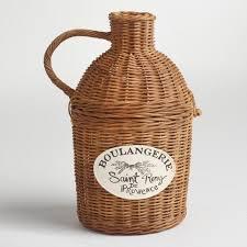 honey wicker bridgette basket world market