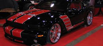 Black Mustang With Pink Stripes Red And Black Mustang Cars 4 Hd Wallpaper Hdblackwallpaper Com