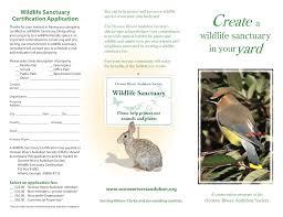 backyard wildlife sanctuary oconee rivers audubon society