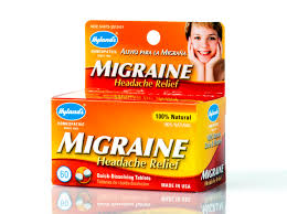 hyland u0027s migraine headache relief tablets natural relief of
