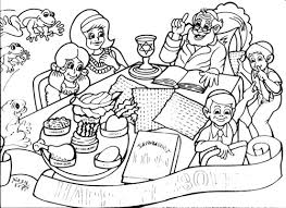 passover coloring page 2 passover coloring placemat