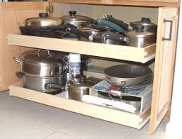 Pullouts For Kitchen Cabinets Sliding Shelves For Kitchen Cabinets Space Saving Pullout