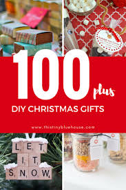 100 diy budget friendly christmas gifts this tiny blue house