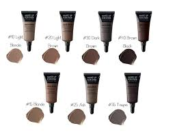 makeup forever s aqua brow highly pigmented gel formula is waterproof fills defines and