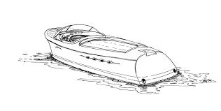 riva aquarama sketch by tuskarsart on deviantart
