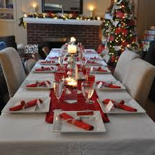 Table Setting by 50 Stunning Christmas Table Settings U2014 Style Estate
