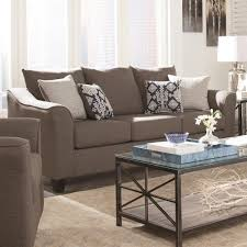 City Furniture Sofas by Coaster Salizar Grey Sofa With Flared Arms Value City Furniture