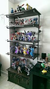 non tf custom pipe shelves for my masterpiece transformers