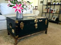 Chest Coffee Table Chest As A Coffee Table Coffee Table Trunks Square Trunk Coffee