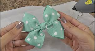 how to make a hair bow easy easy diy hair bow tutorial diy projects for
