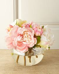 artificial floral arrangements silk floral arrangement neiman marcus