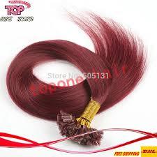 raw hair coloring tips cheap 6a grade pre bonded u tips keratin glue100 raw hair