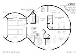 multi level home plans peaceful design 5 dome home plans one story floor plans multi level