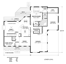 craftsman style house plan 4 beds 4 5 baths 2697 sq ft plan 56 floor plan main floor plan