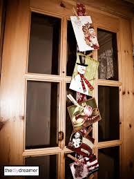 ribbon christmas card holder the d i y dreamer
