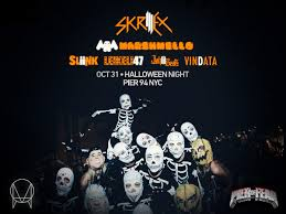 skrillex announces monster halloween lineup your edm