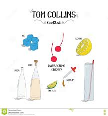tom collins ingredients how to make an tom collins cocktail set with ingredients for