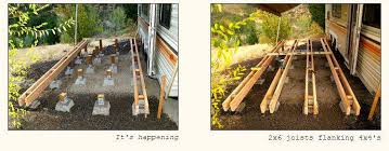 How To Build A Wooden Awning Awesome Rv Deck Design Ideas How To Build A Deck