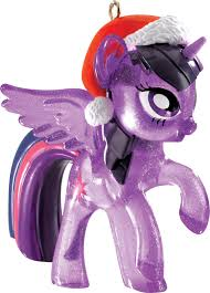 new rainbow dash and twilight sparkle ornaments revealed mlp merch