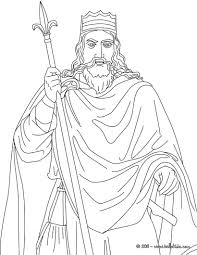 king clovis coloring pages hellokids