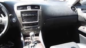 lexus is 250 gray 2007 lexus is250 gray stock 040219 interior youtube